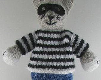 Cat Burglar PDF Knitting Pattern