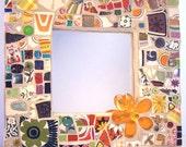 Mixed Up Mixed Media ReTRo Mosaic Mirror SOMETIMES SHES TACKY
