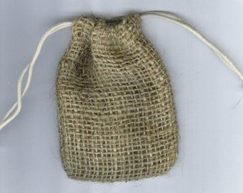 Jute Pouches Set Of 10