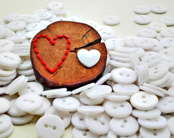 Empty Heart - Full Heart Brooch
