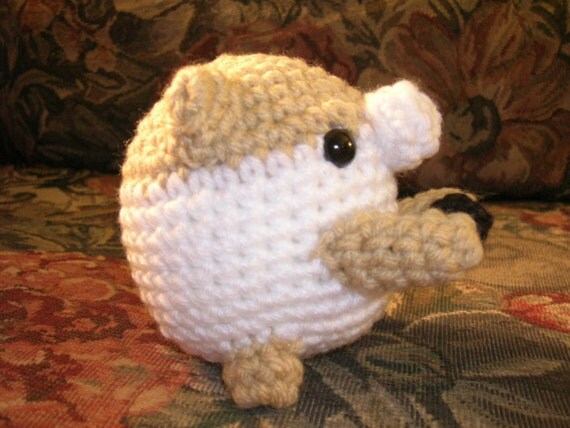 Ami Hamster Crochet Pattern. PDF