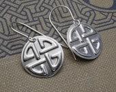 Celtic Knot Earrings, Sterling Silver Celtic Jewelry - Irish, Celtic Knot  Jewelry Earrings, Women, Jewellery, Handmade Gift, Scottish
