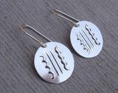 Transformer Symbol Sterling Silver Earrings - Geek, Electronic, Engineering, Nerd, Science Jewelry, Teacher