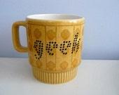 Geek altered 70s mug