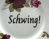 Schwing plate