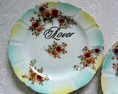 Lover Fighter plate duo