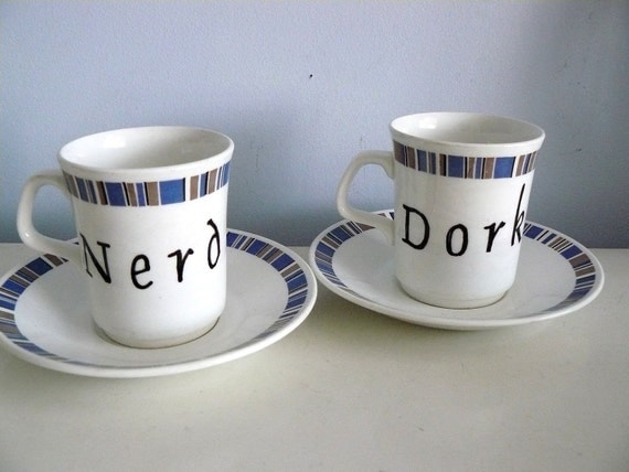 Nerd Dork coffee set