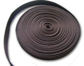 Chestnut Brown Webbing - 25 Yard Roll