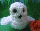 Snowy Owl....Small Crochet Owl