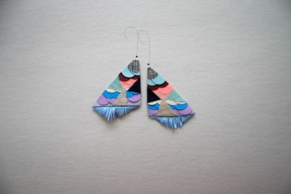 Jacinta paper earrings