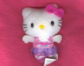 5 Hello Kitty Mini Plush Ballerina