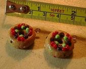 Custom Order for Barbara Fruitcake earrings
