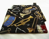 Musical Instruments Pot Holders/Hot Pads