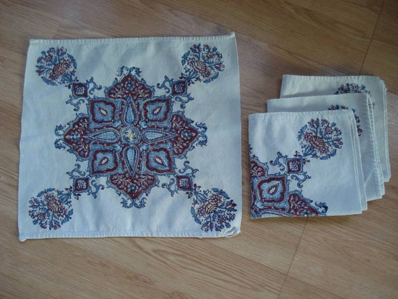 1970s Cotton Napkins and Placemats 2012203