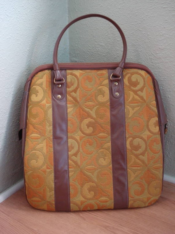 1960s Insulated Carry On Diaper Bag
