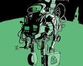 Spaceman Print