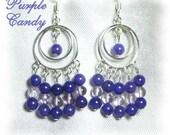 Purple Candy Chandelier Earrings - BHV