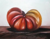 Heirloom Tomato - Original 7 x 5 Oil Painting