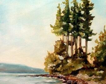 Morning Still - Original 9 x 12 Oil Painting