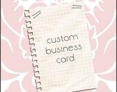 Promote Yourself...Custom Business Card Design