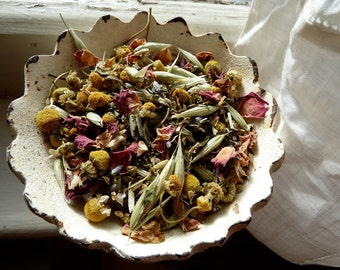 2 oz of Organic WUTHERING HEIGHTS - Herbal Floral Blend Tea