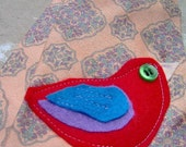 Recycled Paisley Tie with a Birdie