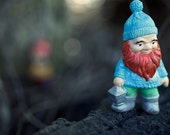 The Light That Fades... - Dwarf Elf Gnome Toy Photography by Patrick Andrew Adams