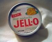 Vintage Retro Jell-O Ad Trinket Tin