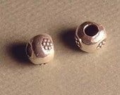 supplies-hill tribe sterling round beads