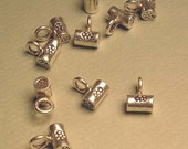 supplies-hill tribe sterling tube charms