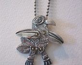 flying bird pendant -Spike