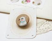 Aviary study 05 (brooch)