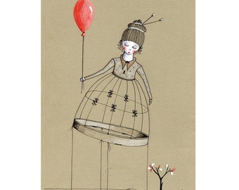 The story of the sleeping red balloon