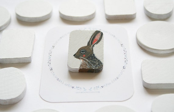 Oh Mr Hare (pin)