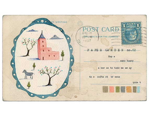 Paper Garden no.2 - Art Print