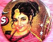 Pocket Mirror - Bollywood - Indian Pinup Girl