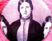 Kate Fox - Pocket Mirror - Seance - Medium - Gothic - Victoriana