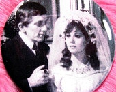 Pocket Mirror - Barnabas Collins - Josette Collins - Dark Shadows