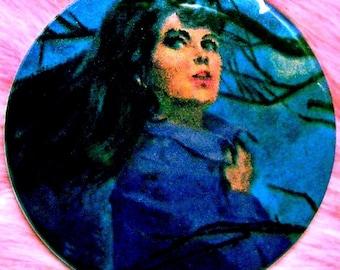 Pocket Mirror - Victoria Winters - Dark Shadows - Gothic Romance