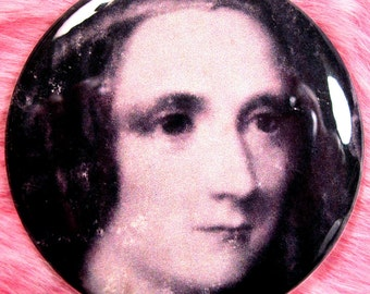 Pocket Mirror - Mary Shelley - Frankenstein - Victoriana