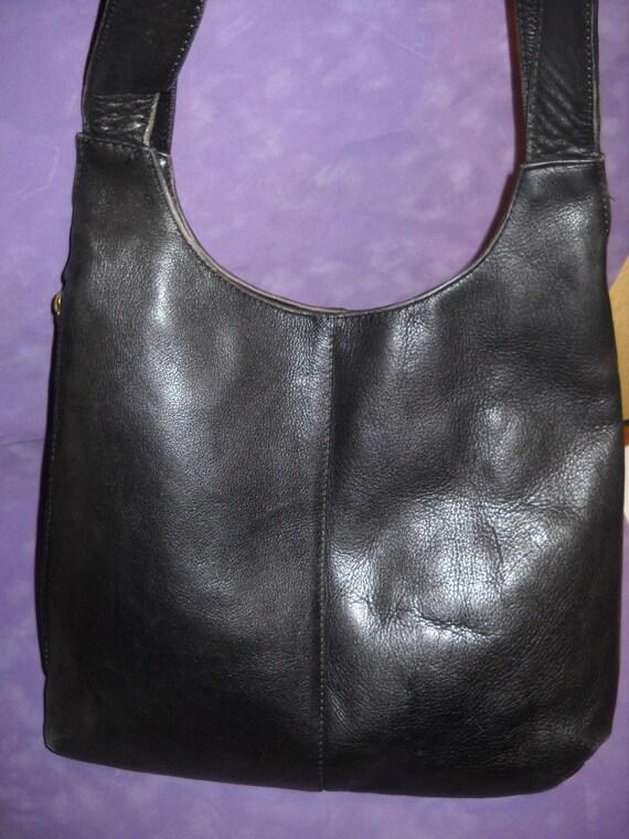 Frye Cross Body Black Leather Bag