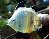 Fish stash jar - Made To Order
