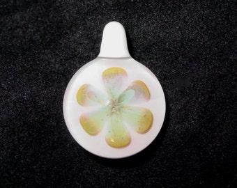 Lovely Love glass flower pendant Infinite Cosmos Glass