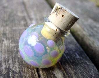 Teeniest Tiniest Mini Stasher glass stash jar bottle Made to Order