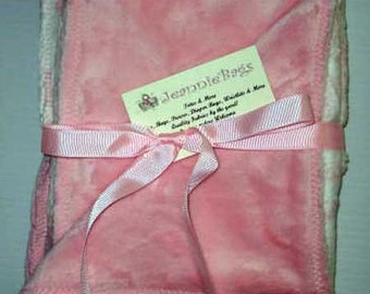 Baby Girl Shower Gift | Baby Blanket | Minkee Minky Central Park Toile Blanket | Ready to Ship