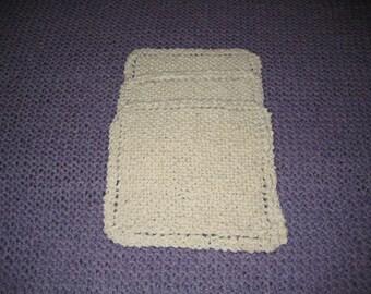 Handknit Cotton Dishcloths