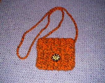 crochetted purse