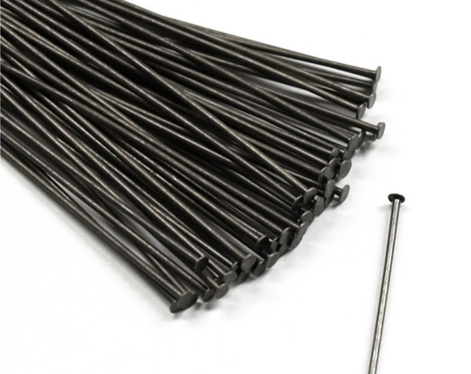 HPBGM-5021 - Head Pin, 2 in/21 ga, Gunmetal - 50 Pieces (1pk)