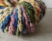 Art museum, crazy handspun yarn