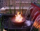 Font O Fire 30 inch Diameter Slim Base Fire Pit